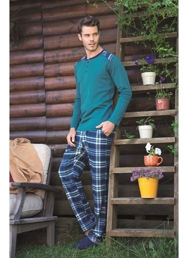 Goldenbay Pijama Takım Yeşil